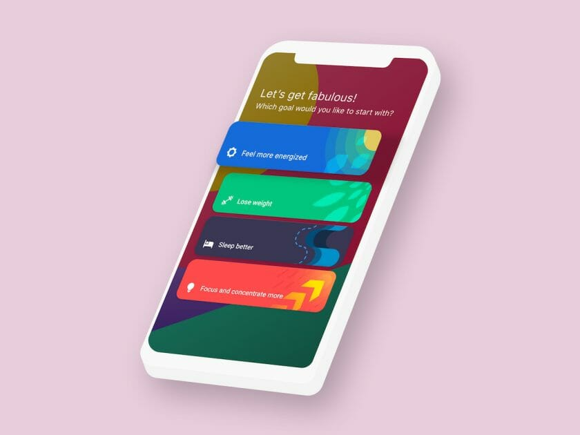 Fabulous App JourneySelection